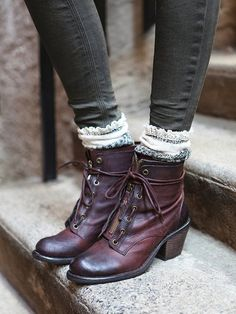 Brown Leather Boots With Skinny Jeans