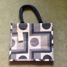 e3b148f854 BNWT Tesco Orla Kiely Abacus Flower Jute Shopping Bag Shopper