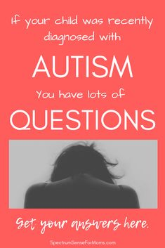 This is such an awesome resource for new autism moms! It answered so many questions for me, and is packed with helpful tips like calming strategies, and visual schedules! It helped me understand what autism is, and how I can help my child.