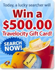PCH Search & Win: PCH -Travelocity gift card today for a #Lucky PCH Searcher