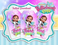 Free Butterbean S Cafe Birthday Party Printable Files