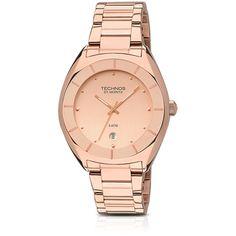 Relógio Feminino Technos Rosê 5 ATM Analógico GM10XZ/4T -Moda - Relógios - Walmart.com