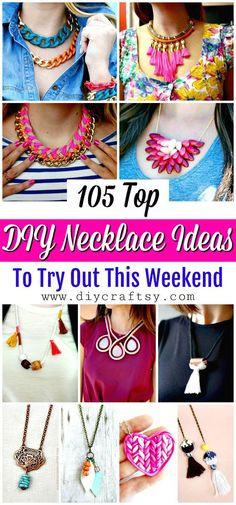 105 Top DIY Necklace