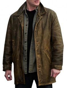http://www.fitjackets.com/products/Dean-Winchester-Distressed-Supernatural-Leather-Jacket.html  #SupernaturalJacket Coat Distressed Leather. This #DeanWinchester Jacket made of 100% Cowhide #RealLeather available at the online shop of fitjackets.