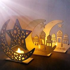 Ramadan Eid Mubarak Decorations For Home Moon Wooden Plaque Hanging Ornaments Islam Muslim Festival Event Party Supplies Ramadan Crafts, Ramadan Decorations, Diy Party Decorations, Eid Mubarak, Wooden Plaques, Wooden Decor, Hanging Pendants, Hanging Ornaments, Decoraciones Ramadan