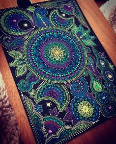 All done ! Love these colours ..... #mandala #mandalas #doodles #doodleart #art #arttherapy
