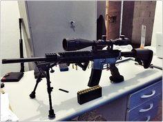 Polícia Civil apreende fuzil 556 equipado com mira telescópica em Guarujá