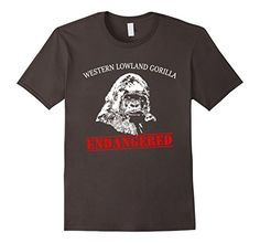 Men's Gorilla ENDANGERED T-shirt by Scarebaby Large Aspha... https://www.amazon.com/dp/B01NBEPNF2/ref=cm_sw_r_pi_dp_x_h9Wqyb65RT2V4