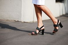 70 Bellissima Milan Street-Style Shots #refinery29  http://www.refinery29.com/54070#slide-67  A pair of pretty sandals (that look comfy, too!).
