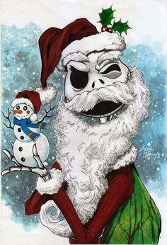 nightmare before christmas art Merry Christmas, Dark Christmas, Disney Christmas, Halloween Christmas, Halloween Town, Halloween Rocks, Halloween Prop, Nightmare Before Christmas Wallpaper, Tim Burton Characters