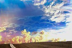 Maisema, Horizon, Pilviä, Taivas, Leveä