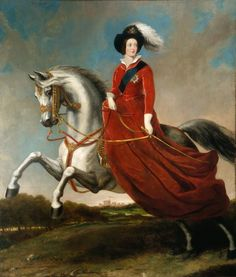 Queen Victoria reigned, on Horseback by Alfred, Count d'Orsay (1846)