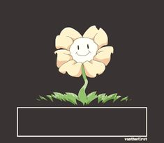 Undertale Flowey chill