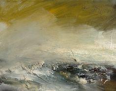 Landfall Oil On Canvas 28cm x 36cm by Dion Salvador Lloyd www.dionsalvador.co.uk