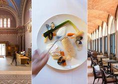 Le Fourvière Hôtel**** 23 rue Roger Radisson, Lyon 5e (prendre le funiculaire jusqu'à Fourvière) Tél. 04 74 70 07 00. 6 € le cappuccino ou le thé. Verre de vin à partir de 6 €. Club-sandwich: 16 € 26 € la formule déjeuner A la carte, plats de 19 à 29 € midi & soir