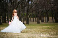 white rock lake bridal portraits