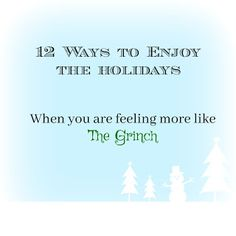 How to enjoy the holidays in a season of divorce, grief or other loss.