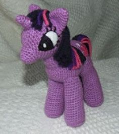 My Little Pony - Unicorn - Crochet Free Pattern!