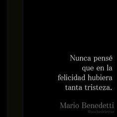 El peso de la nostalgia-  Mario Benedetti