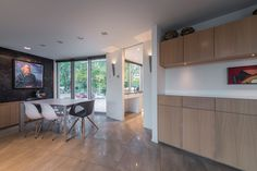 Open Plan Living Bespoke Joinery Art Display Urban Home