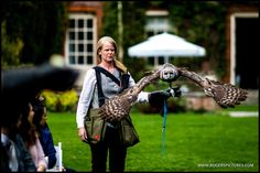 Eric the Owl en route to deliver the wedding rings to Ilia at Lainston House, find out what happened next -