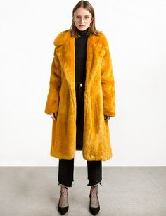 A Rainbow Of Faux Fur Coats To Brighten Up Your Winter