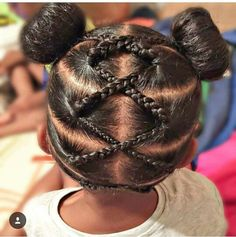 Little Black Girls Hair On Pinterest Cornrows Kid
