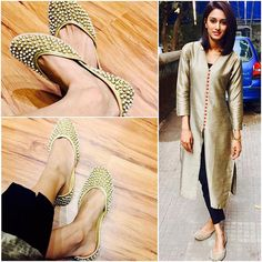 Look for something positive in each day even if some day u hv to look a little harder Shoes:- Indian Fashion Dresses, Indian Designer Outfits, Fashion Wear, Fashion Outfits, Womens Fashion, Designer Dresses, Ethnic Outfits, Stylish Outfits, Heavy Dresses