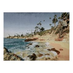 Photorealism Jacquard Wall Décor/Panel Laguna Beach - Fabric.com