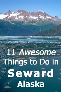 Here's a detailed list of 11 awesome activities - from hiking glaciers to kayaking with orca whales - that you can do in Seward, Alaska! Cruise Travel, Cruise Vacation, Travel Usa, Vacation Ideas, Dream Vacations, Cruise Excursions, Vacation Spots, Seward Alaska, Anchorage Alaska