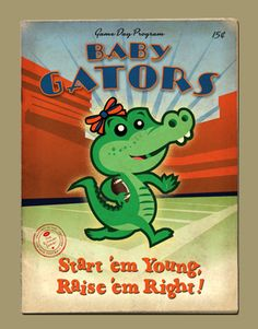 baby gator!