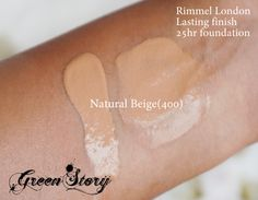 Rimmel London Lasting Finish Foundation is a liquid foundation, consistency is neither too thick or thin. Rimmel London, Swatch, Foundation, Makeup, Beauty, Make Up, Foundation Series, Beauty Makeup, Beauty Illustration