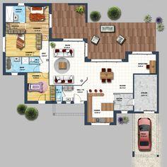 constructeur maison moderne la baule les pins loire atlantique 44 | Depreux Construction