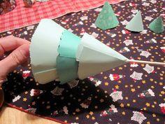 Craft, Interrupted: Paper Tree Winter Wonderland Centerpiece