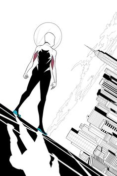 Spider-Gwen by patoftherick