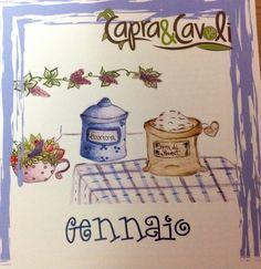 """Capra&Cavoli"" Calendar"