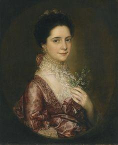 Portrait of Mrs Richards ||| Thomas Gainsborough, R.A. ||| Sotheby's