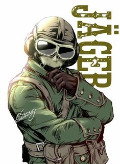 GSG-9 Operative:Jager (Legendary Skin) Author:shinosaaaaaaag Tom Clancy's Rainbow Six, Rainbow Six Siege Anime, Rainbow 6 Seige, Rainbow Six Siege Memes, Rainbow Art, Rainbow Meme, R6 Wallpaper, Character Art, Character Design