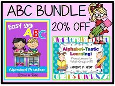 Alphabet BUNDLE! You