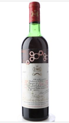 Mouton Rothschild, Wine Prices, Red Wine, Alcoholic Drinks, Bottle, Glass, Drinkware, Alcoholic Beverages, Flask