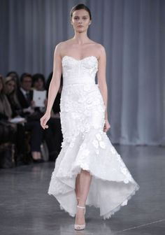 Short Wedding Dresses Monique Lhuillier 2 | Weddingbells.ca