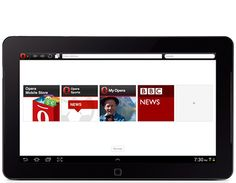 Opera - Fast and free alternative browser made for our Android Tablets.