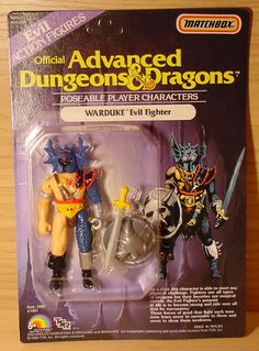 Advanced Dungeons and Dragons carded figures Dungeons And Dragons Figures, Advanced Dungeons And Dragons, Retro Toys, Vintage Toys, Childhood Toys, Childhood Memories, Modern Toys, Old School Toys, Dinosaur Toys