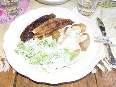 Husfrøy: Makrell! Meat, Chicken, Food, Essen, Meals, Yemek, Eten, Cubs