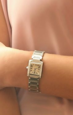 6b6e18d3881 Loving the way this classic  cartier watch fits with any style. Bangles
