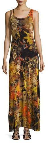 Fuzzi Sleeveless Floral-Print Maxi Dress, Multi  https://api.shopstyle.com/action/apiVisitRetailer?id=600440965&pid=uid2500-37484350-28