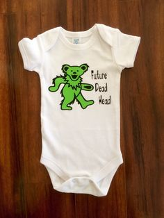 A personal favorite from my Etsy shop https://www.etsy.com/listing/229793588/grateful-dead-onsie