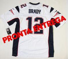 3c34ded1bd Camisa New England Patriots - 12 Tom Brady - PRONTA ENTREGA