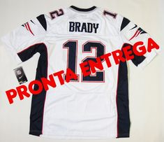 8ef7b319bbf22 Camisa New England Patriots - 12 Tom Brady - PRONTA ENTREGA