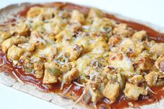 Recipe: Skinny Chicken Enchilada Flatbread